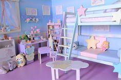 "sanrio1998: "" Little Twin Stars Room!!! """