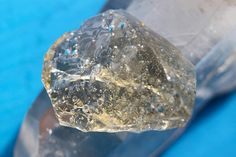 Large Camelot Champagne Seafoam Andara Crystal 73,03 grams - Super Rare Andara Specimen!! -