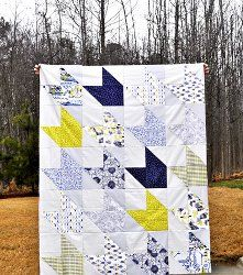 Traveling Southwest Quilt | FaveQuilts.com Baby colors? Kids? Great directions!