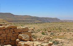 The brilliant blue sky over our USAID SCHEP site in Busayra  #Travel #Jordan #VisitJordan #LoveJo #LiveJo #Archaeology #Culture #Hiking #Exploring #GetOutside #ExploreJordan #CommunityDevelopment #Unite4Heritage #Jordan_Heritage #Adventure