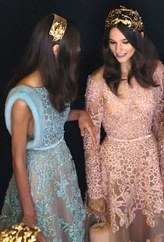 ♡ELIE SAAB Backstage Haute Couture Fall/Winter 2015-2016