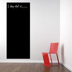 Tavle som wallstickers - Hold styr på dine planer