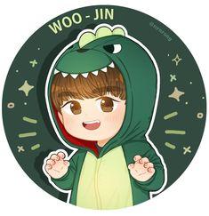 Park Woojin Cute Pokemon Wallpaper, Single Pic, Kawaii, First Art, Kpop Fanart, Anime Chibi, Pretty Pictures, Idole, Art Sketches
