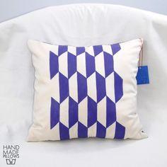 Hand Made Pillows. Linen, acrylic. Decorative pillow.