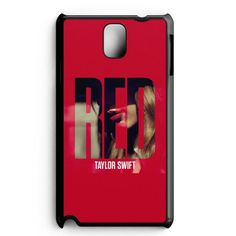 Red Taylor Swift Samsung Galaxy Note 5 Edge Case