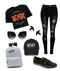 """Untitled #26"" by sarahperri on Polyvore featuring Boohoo and Vans"
