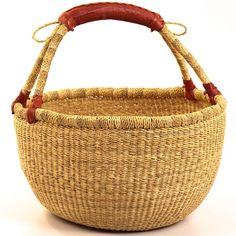 Ghana bolga basket. I love using mine when going to the local Farmer's market
