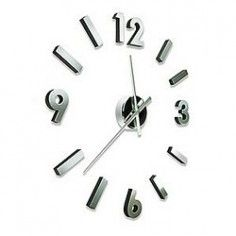 Self Design Modern Contemporary Abstract Wall Clock – Numbers