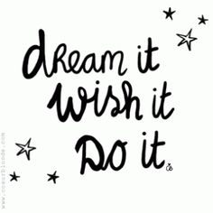 ❥ Follow your heart and dreams!
