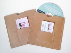 cd sleeves with pockets - Google Search