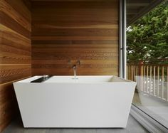 Square Bathtubs are just...awesome!