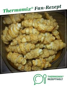 ) By krustinja. A Thermomix ® recipe from the baking class at www.de, the Thermomix ® Group. Mini Croissant, Cheese Croissant, Appetizer Recipes, Snack Recipes, Simple Appetizers, Seafood Appetizers, Cheese Appetizers, Party Appetizers, Baking Classes