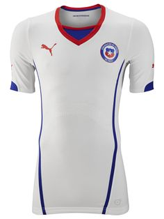 CHILE Soccer Team 2014 FIFA WORLD CUP Jersey,all jerseys are Thailand AAA+ quality,order will be shipped in days after payment,guaranteed original best quality China shirts Fifa World Cup Jerseys, Rugby World Cup, Football Kits, Football Jerseys, Team T Shirts, Sports Shirts, World Cup Shirts, Jersey Atletico Madrid, Geek Shirts