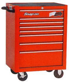 SNAP-ON (スナップオン)ベアリング付 8引出し 最も使いやすく、人気のあるロールキャブ 工具箱(レッド)(送料、納期につきましては、お問い合わせください)【楽天市場】