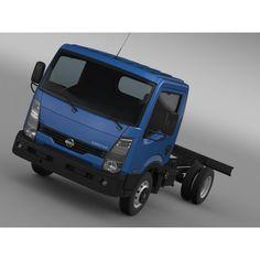 Nissan Cabstar Chassi 2013 - 3D Car for Maya