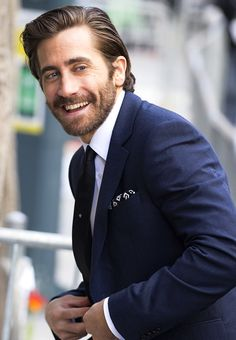 Jake Gyllenhaal arriving at the 'Stronger' Photocall on September 9, 2017 in Toronto, Canada.