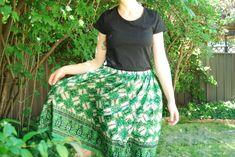 DIY recycled sari skirt image 1