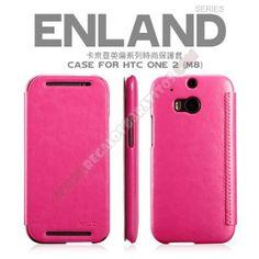 Funda con tapa diseño elegante para HTC One M8