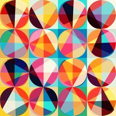 vector-geometric-pattern-of-circles-and-triangles-colored-circles-seamless-_MJdqrT5O_L.jpg (1000×1000)