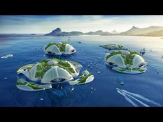 The Most Beautiful Project   Floating City Made Out of Garbage   Aequorea