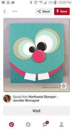 Boy Cards, Cards Diy, Kids Cards, Scrapbooking Ideas, Scrapbook Cards, Kids Birthday Cards, Punch Art, Card Designs, Hobbies And Crafts