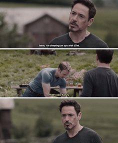 Steve can see through your bullshit, Tony