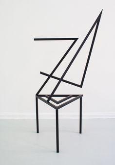 Where Furniture Meets Art: Caramel by Yasmin Muller - Design Milk Contemporary Chairs, Modern Contemporary, Modern Design, Art Furniture, Modern Furniture, Furniture Design, Studio Furniture, Lounge Design, Chair Design