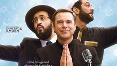 KINO: Ein Lied für Gott  Dafür wurde es höchste Zeit: ein Rabbi, ein Pfarrer und ein Imam gründen eine Band. Der berufl ich unter Hochdruck stehende Musikproduzent Nicolas soll diese neue Band ganz nach oben bringen. >>> http://bit.ly/2saLolC  #Gott