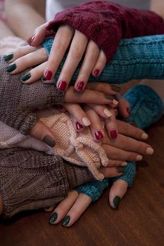 Soakbox: may your nails match your knits (and Soak and Handmaid). via Flickr.