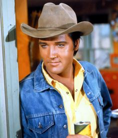 "Elvis in ""stay away joe""."
