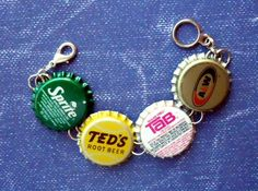 Vintage Bottle Cap Bracelet Sprite / Teds by NouveauCompliments, $13.00
