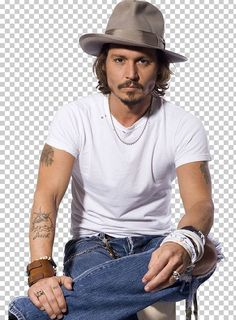 This is an image of Johnny Depp. Everyone knows who Johnny Depp is. His diversity in his roles motivates me to to become more competent and master the craft of dramatic acting and be the best actor I can be. Johnny Depp Tattoos, Tattoo Geometrique, John Depp, Best Mens Fashion, Male Fashion, Fangirl, Raining Men, Celebs, Celebrities