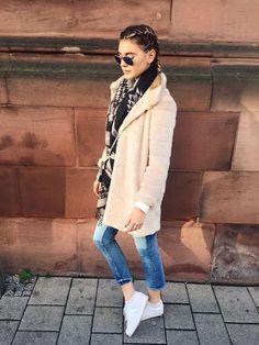Stefanie Giesinger im lässigen Winterlook