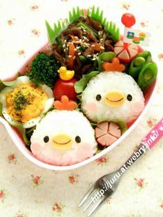 What's for lunch? 25  lovely and delicious bento boxes too cute to eat