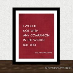 Shakespeare love quote typography art print - romantic gift - poster - anniversary present Shakespeare Wedding, Shakespeare Love Quotes, William Shakespeare, Great Quotes, Quotes To Live By, Me Quotes, Inspirational Quotes, Wedding Quotes, Typography Quotes