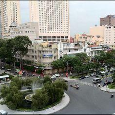 Downtown Saigon (Vietnam)
