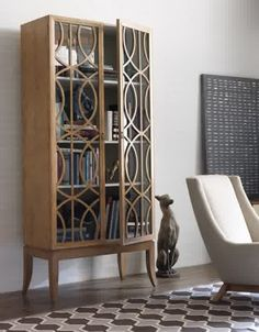 Interior Elegant Design For Mid Century Bookcase Design With Glass And Wooden Motifs For Door To Decorate Living Room For Modern Interior Decorating Ideas Stunning Mid-century Bookcases for Modern Interior Decorating Ideas