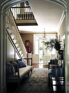 Inventive Staircase Design Tips for the Home – Voyage Afield Style At Home, Design Entrée, House Design, Design Ideas, Beautiful Space, Beautiful Homes, Interior Exterior, Interior Design, Interior Decorating