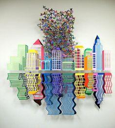 David Kracov, Metal sculptures.