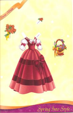 Miss Missy Paper Dolls: All Dressed up Disney princess Part 2