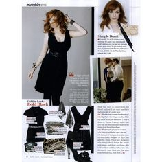 Marie Claire Editorial Mad Curves, November 2009 Shot #3 ❤ liked on Polyvore featuring christina hendricks and editorials