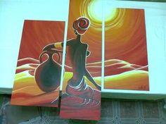 Diseño Cuadros Pinturas Tripticos Polipticos Dipticos - $ 1.700,00 ...