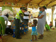 En La Guajira: Policía impulsa presentaciones caninas para integrarse con la comunidad