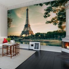 Rebel Walls foto behang interiors wallpaper behang woonkamer behang slaapkamer #trendy #interieurtrends paris