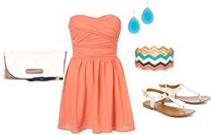 """""""love this outfit for summer!"""" by megansilva on Polyvore"""