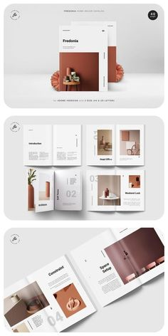 All Details You Need to Know About Home Decoration - Modern Design Portfolio Layout, Magazine Layout Design, Graphic Design Layouts, Book Design Layout, Print Layout, Web Design, Branding Portfolio, Brochure Cover Design, Magazine Layouts