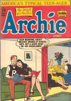 A cover gallery for the comic book Archie Archie Comics Characters, Archie Comic Books, Vintage Comic Books, Vintage Comics, Afterlife With Archie, Archie Betty And Veronica, Archie Comics Riverdale, Pin Up, Classic Comics