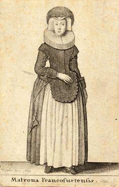 "Wenceslas Hollar, 1643 ""Mulier Moguntiana"""