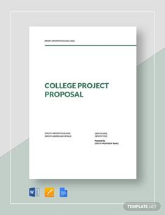 Simple Project Proposal Template - Word (DOC) | Google Docs | Apple (MAC) Apple (MAC) Pages | PDF | Template.net Free Proposal Template, Project Proposal Template, Business Proposal Template, Sample Proposal Letter, Writing A Business Proposal, Grant Proposal, Software Projects, Google Docs, Apple Mac