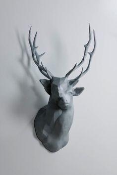 "Kohei Nawa ""Polygon-Double-Deer#2"", 2011"